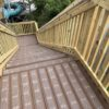 decking strips on steps