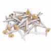 Colored Head Screws (Pack of 100)-28